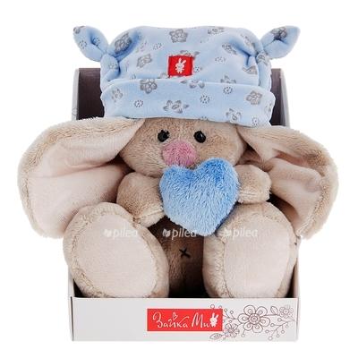 Мягкая игрушка «Зайка» с сердечком