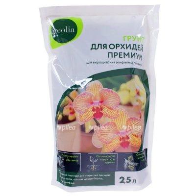 Купить Грунт для орхидей премиум geolia