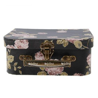 Коробка набор «Чемоданчик» чёрный