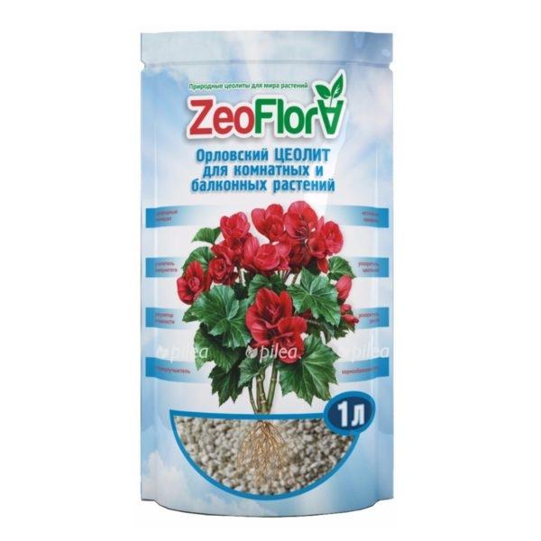 """Regbnm Почвоулучшитель """"ZeoFlora"""" для комнатных растений """"Бегония"""""""