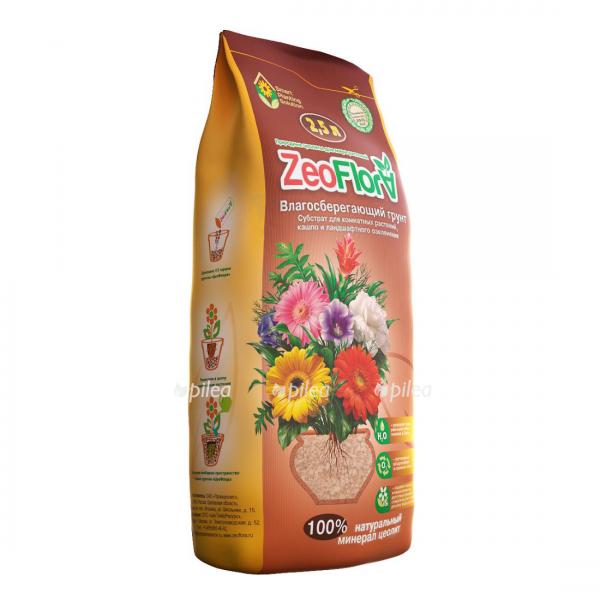"""Купить Грунт """"ZeoFlora"""" для комнатных растений"""