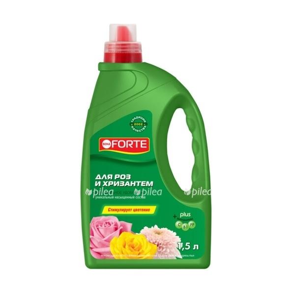 """Купить Удобрение """"Bona Forte"""" открытого грунта для роз и хризантем"""