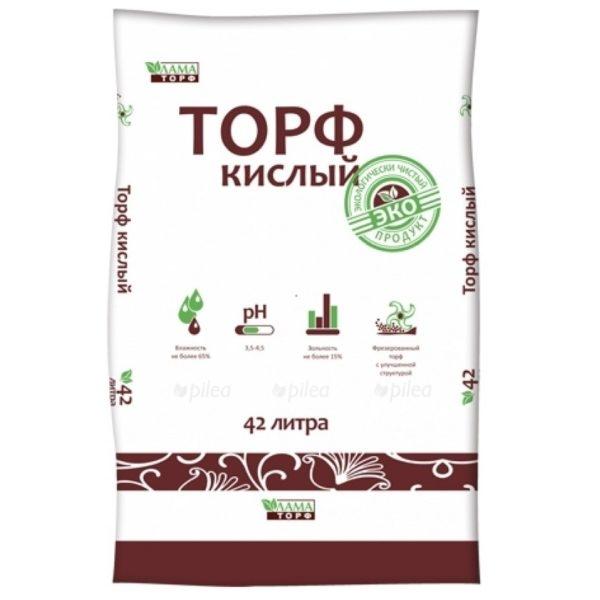Купить Торф Кислый 60 л