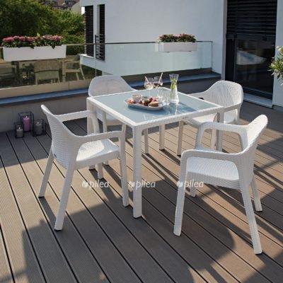 Купить Набор Lechuza Маленький стол +4 стульев