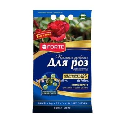"""Купить Удобрение """"Bona Forte"""" пролонгированное с биодоступным кремнием Розы и Клумбовые 2,5 кг"""