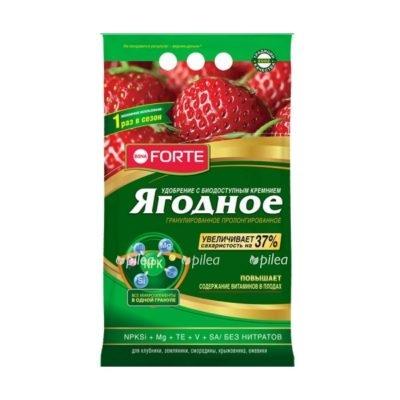 """Купить Удобрение """"Bona Forte"""" пролонгированное с биодоступным кремнием Ягодное 2,5 кг"""