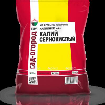 Кпить Калий сернокислый «ГЕРА» Калийное 0,9 кг