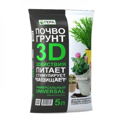 Regbnm Почвогрунт Универсальный 3D