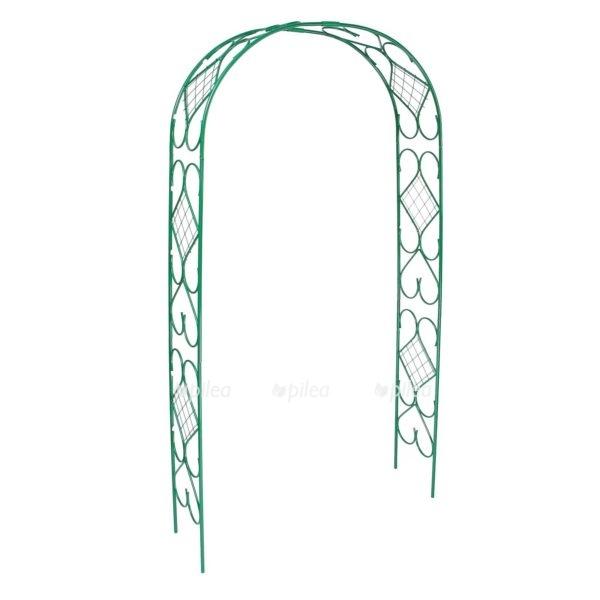 Купить Арка Садовая зелёная 240 × 120 × 36 см