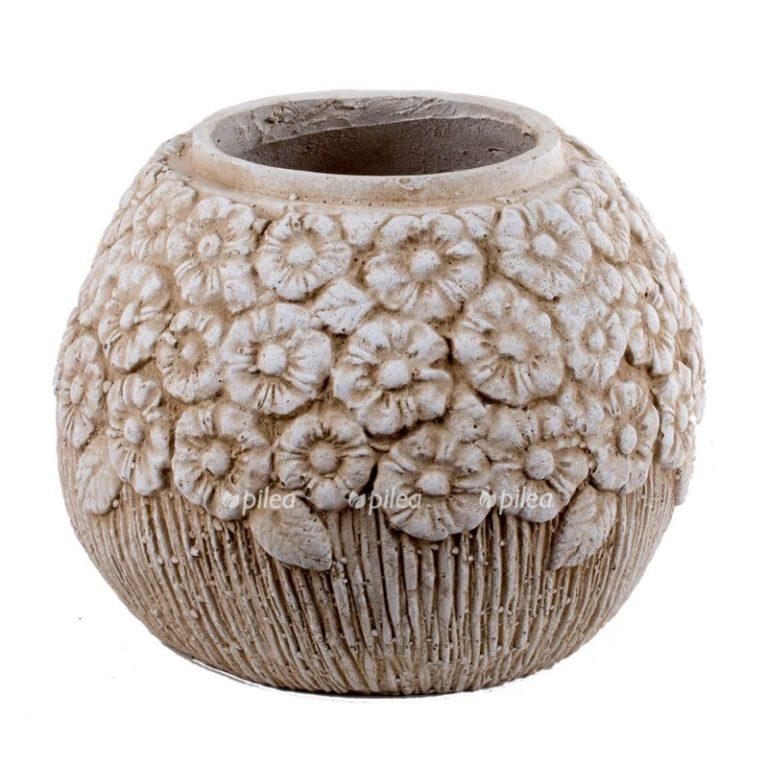 Кашпо «Шамот» каменная крошка