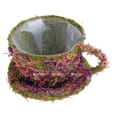 Кашпо «Чаша» сухоцветов