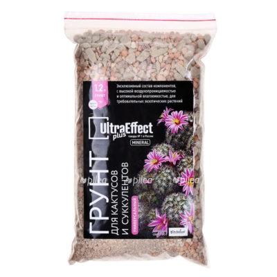 Купить Грунт для Кактусов и Суккулентов UltraEffect Plus Mineral 1,2